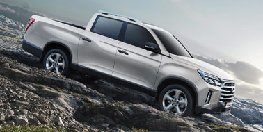 New SsangYong New Musso & Rhino LWB from £22,355 <span>ex VAT</span>