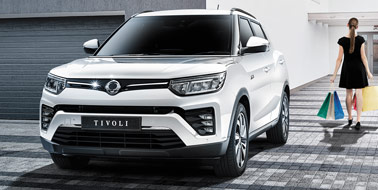 New SsangYong New Tivoli from £14,345