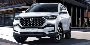 New SsangYong New Rexton from £37,995